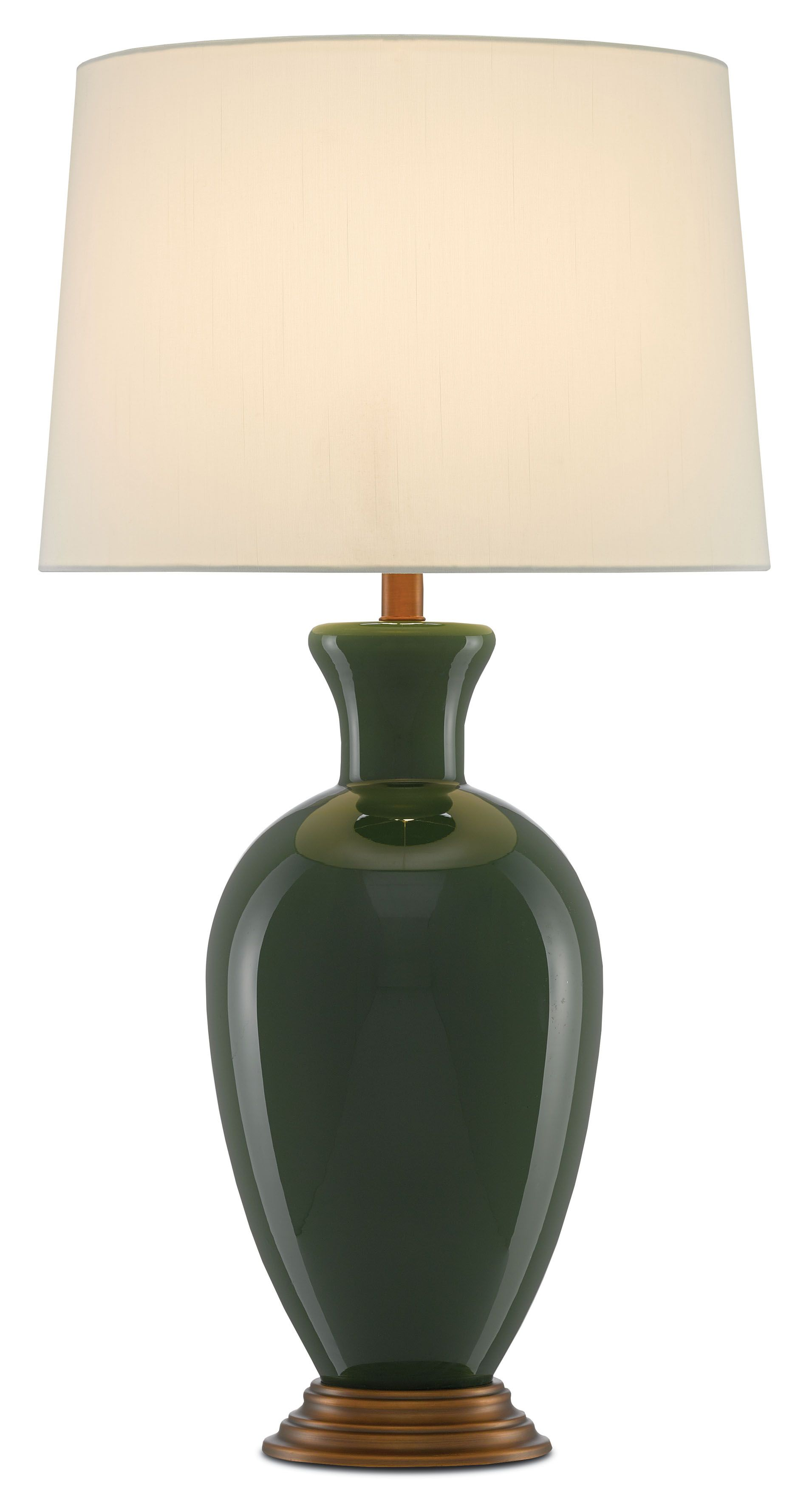 The Green Cybil Table Lamp Earns Its Respect As A Sleek Echo Of Historical Designs The Urn Shaped Body Of The Lamp Made O Lamp Table Lamp Colorful Table Lamp