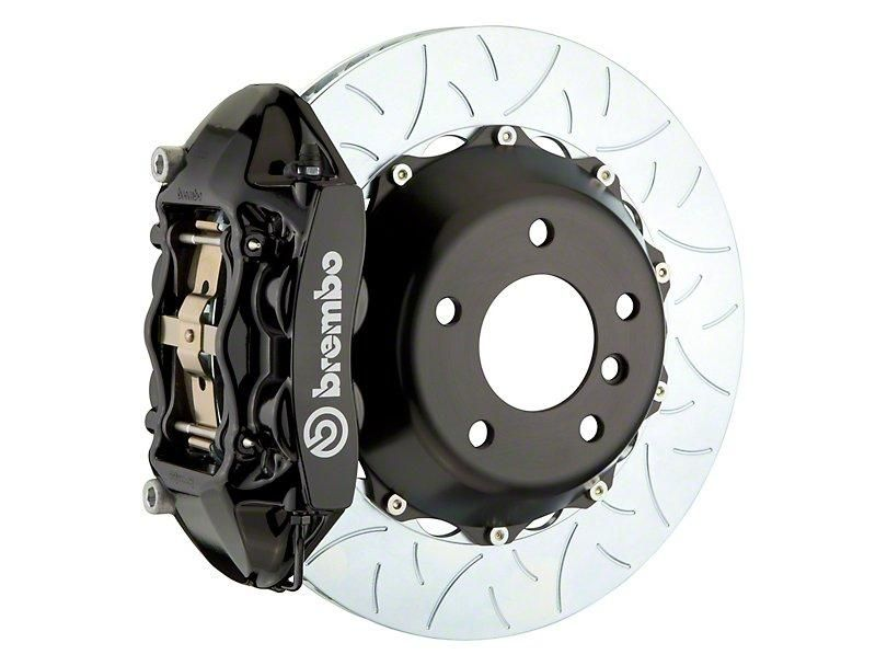 Brembo Gt Series 4 Piston Rear Big Brake Kit 15 In 2 Piece Type 3 Slotted Rotors Black 08 14 Srt8 Brembo Ford Focus Rs Ford Focus
