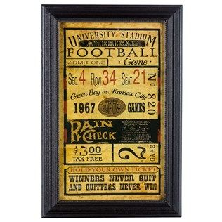 Put A Nostalgic Twist On Your Man Cave Or Sports Themed D Eacute