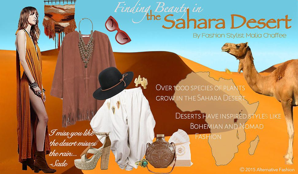 Finding Beauty In The Sahara Desert By Fashion Stylist Malia