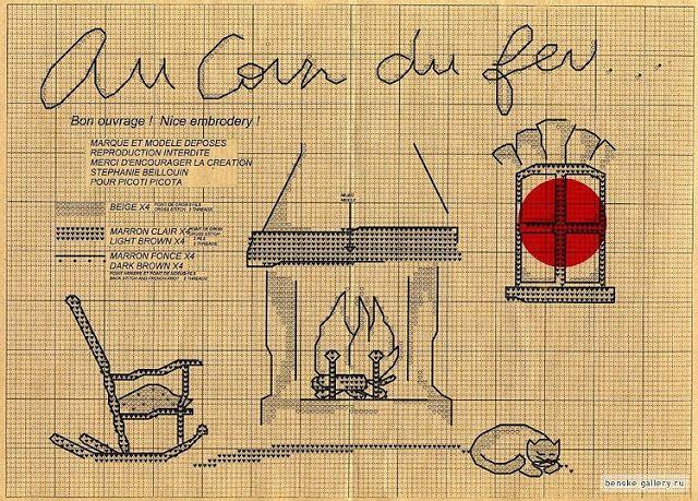 Иголкин уголок / The Needle Nook: Вышивание/Stitching