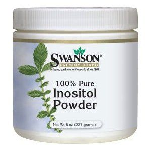 100% Pure Inositol Powder 8 oz (227 grams) Pwdr by Swanson