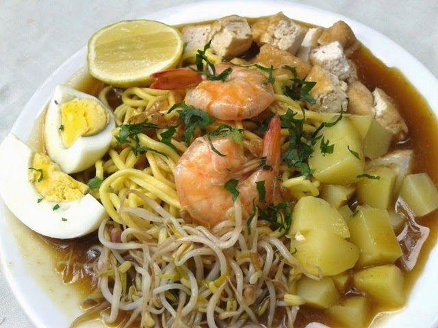 Mie Keling Rebus Medan From A To Z Resep Masakan Indonesia Makanan Resep Masakan
