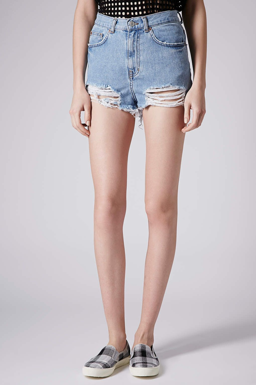 c0c25fe7b0d MOTO Bleach Ripped Mom Shorts | shorts