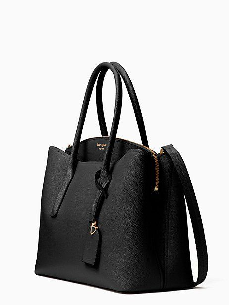 170be96479 Kate Spade Margaux Large Satchel, Black in 2019 | Products | Satchel ...