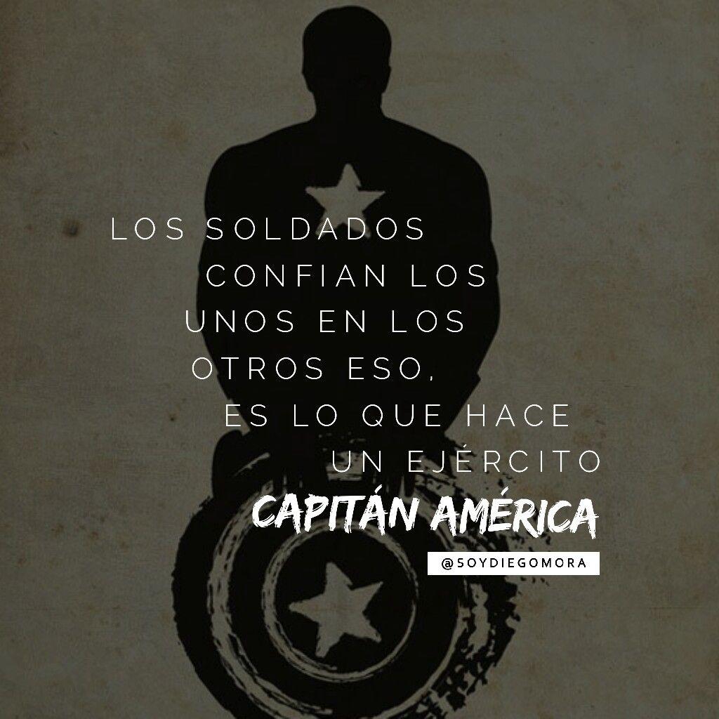 Capitán América Los Soldados Confían Los Unos En Los Otros