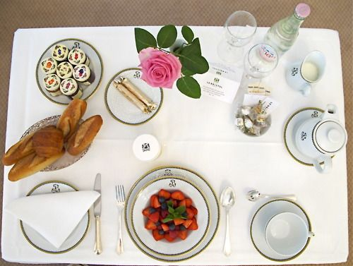 Room Service Breakfast At Le Bristol Paris Dining EtiquetteAfternoon