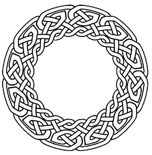 Celtic Circle Tat Tattoo 05 Celtic Circle Celtic Designs Celtic Knot