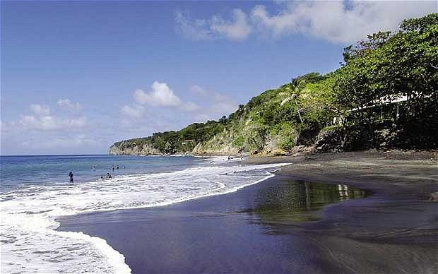Montserrat the caribbean 39 s emerald isle emerald isle for Black sand beach caribbean