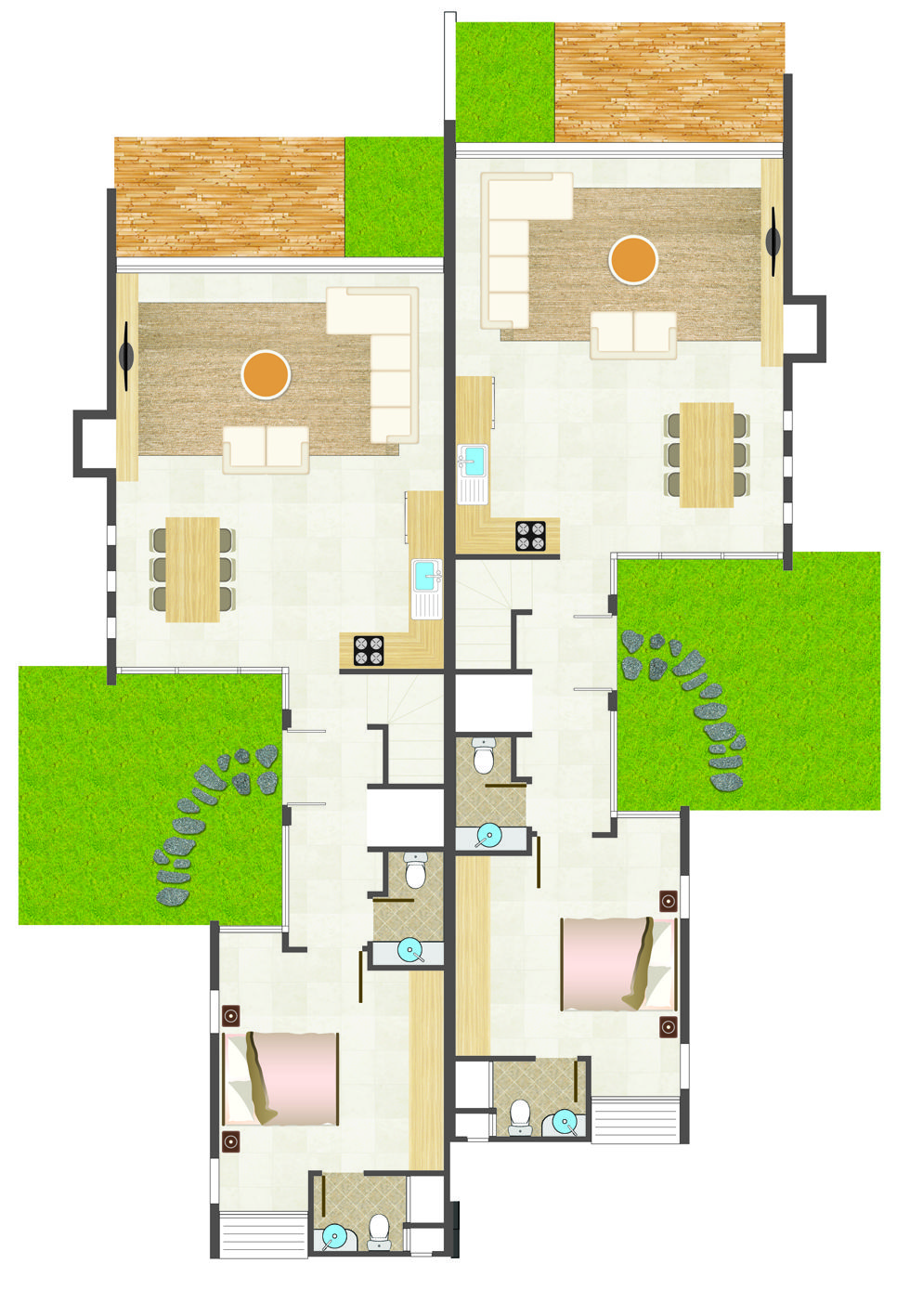 Floor Plans In A Different Style To Soften The Look Floor Plans Property Marketing Bed And Breakfast