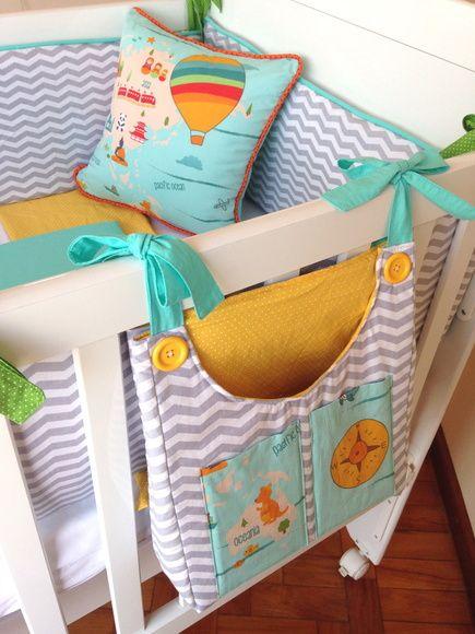 Kinderzimmer deko nähen  Kit Berço - 3 peças   Pinterest   Kinderkleidung, für Kinder und Nähen