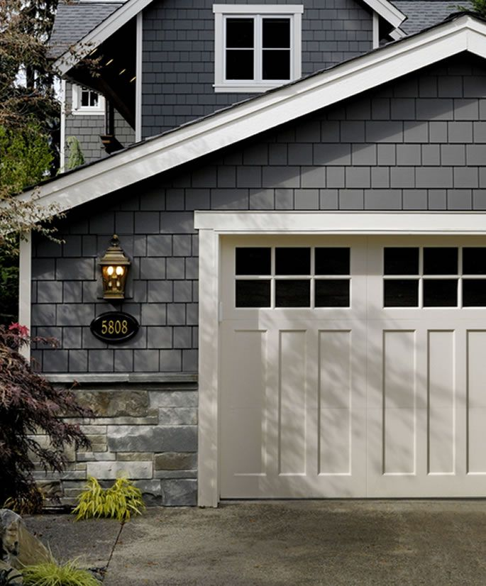 Building a garage maybe exterior garage doors and exterior colors for Exterior garage doors