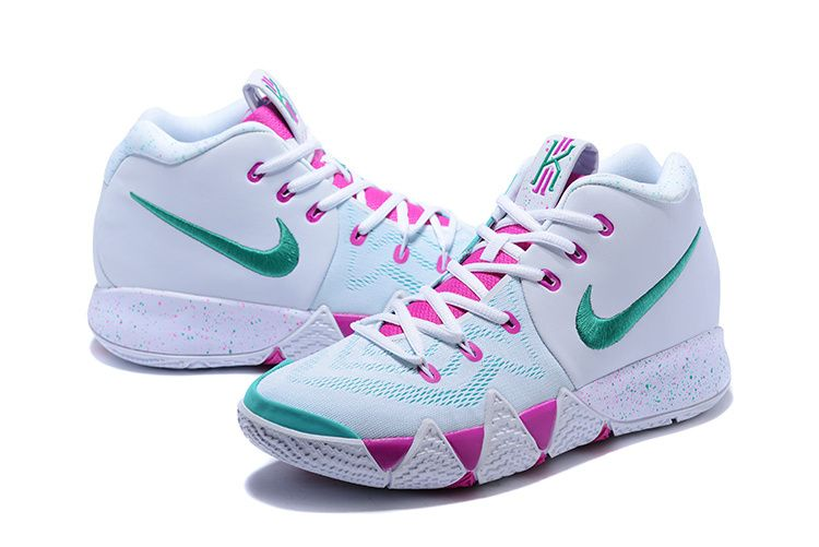 4cdd9e6ca124 ... discount 2018 shop nike kyrie 4 2018 mens basketball shoes white noble  red mint green c25ff