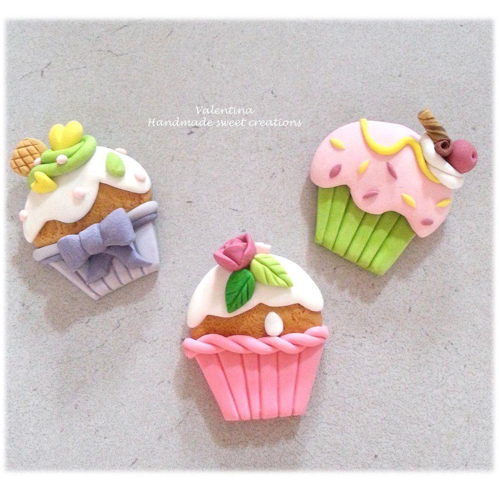 Cupcake Matrimonio Segnaposto.Calamita Cupcake Muffin Bomboniera Segnaposto Matrimonio Battesimo