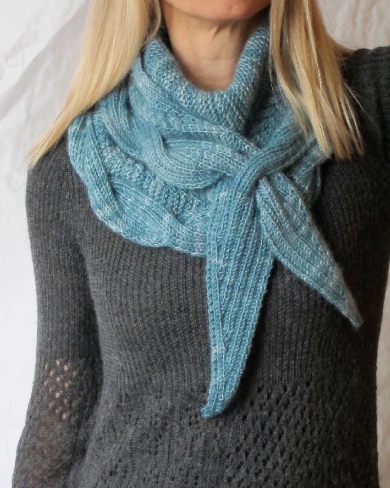 Betangled Shawlette | Knit patterns, Patterns and Knit crochet