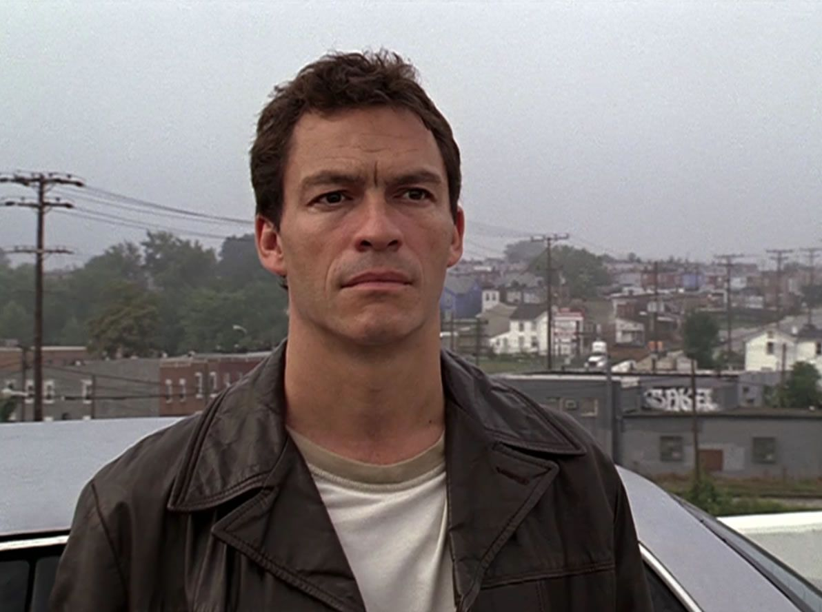 Jimmy McNulty (Dominic West) one of the cops in THE WIRE | Dominic ...