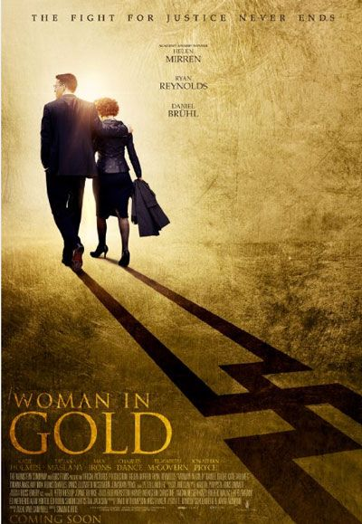 'Woman in Gold' Movie Trailer and Poster with Ryan Reynolds is part of Gold movie poster, Gold movie, Woman in gold, Ryan reynolds, Helen mirren, Movies - The Weinstein Company's just unveiled the first official trailer for the dramatic film Woman in Gold starring Helen Mirren and Ryan Reynolds, and based on an incredible true story