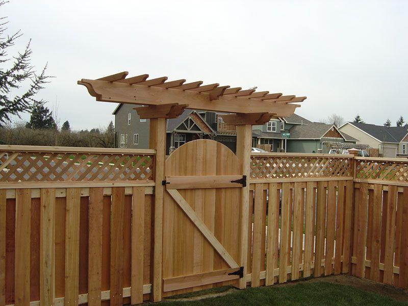 arbor fence