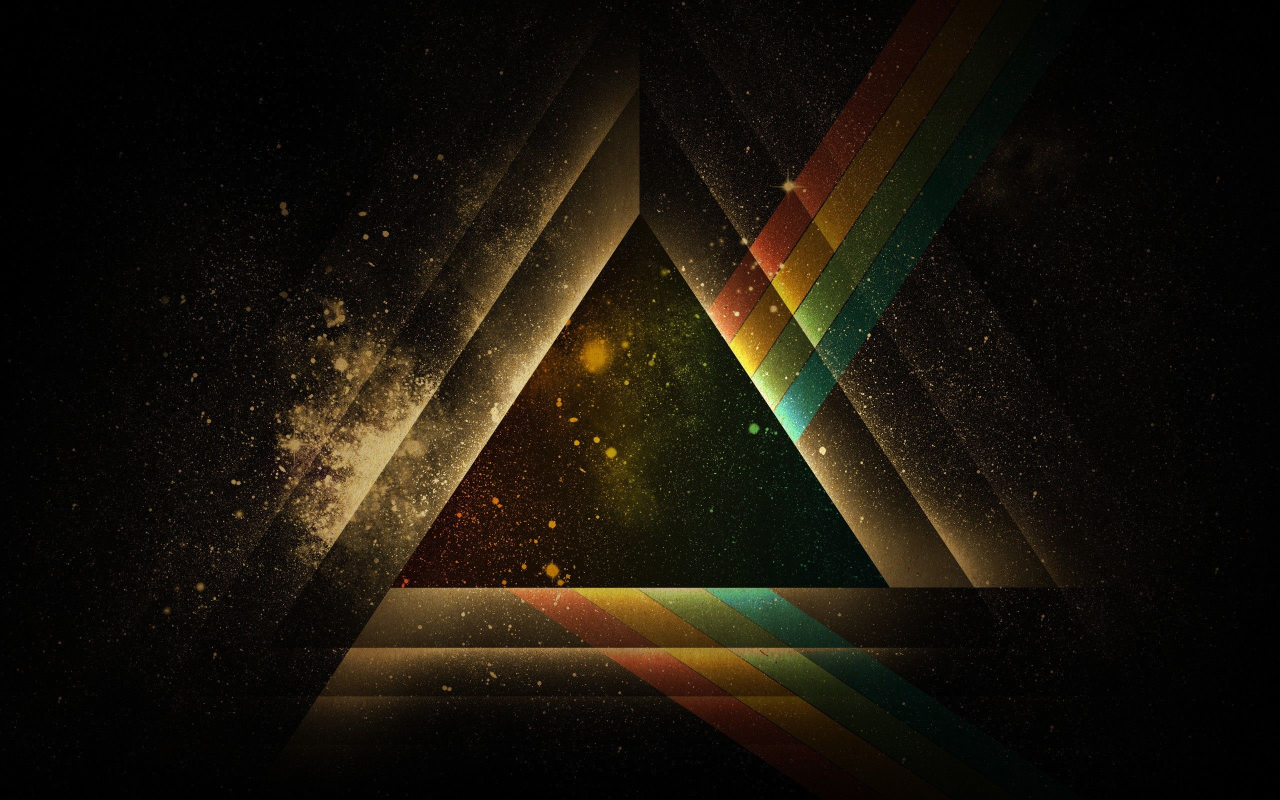 Pink Floyd abstract design multicolor prism wallpaper (#834182 ...
