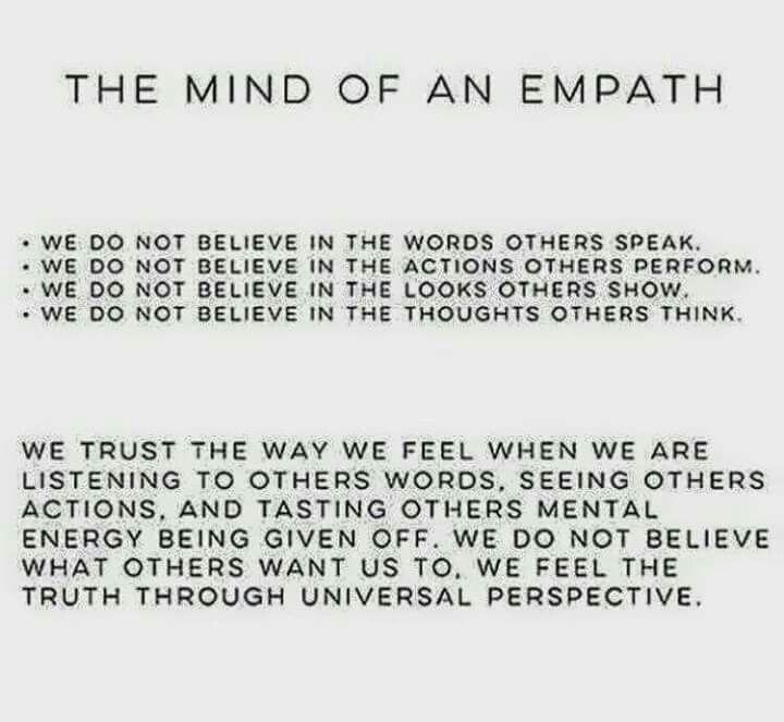 Mind of an empath