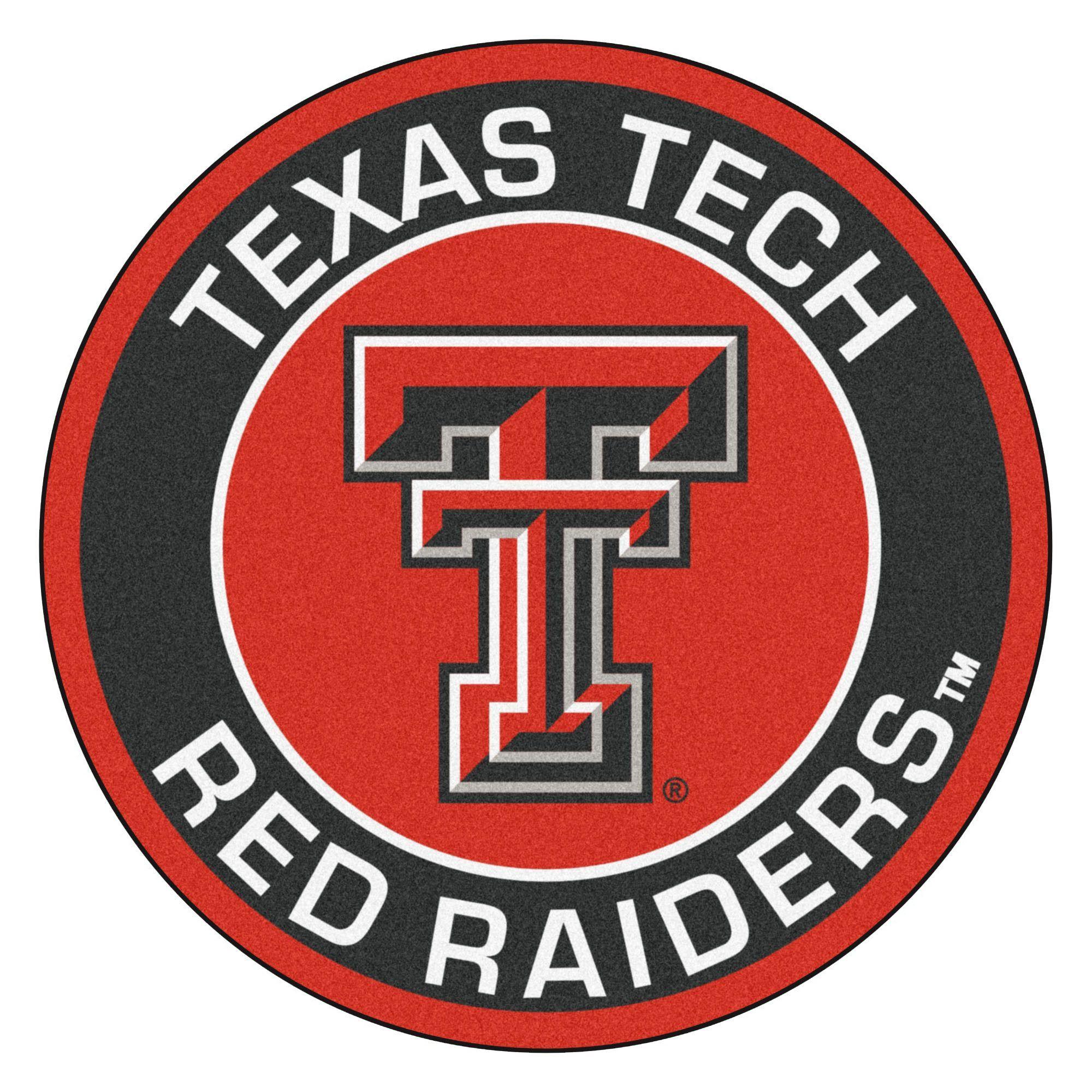 Ncaa Texas Tech University Roundel 27 In X 27 In Non Slip Indoor Only Mat In 2020 Texas Tech Red Raiders Texas Tech University Texas Tech
