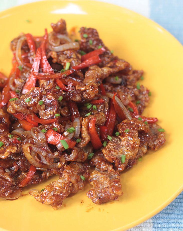 A Popular Item In The Panda Express Menu Beijing Beef Is A Dish