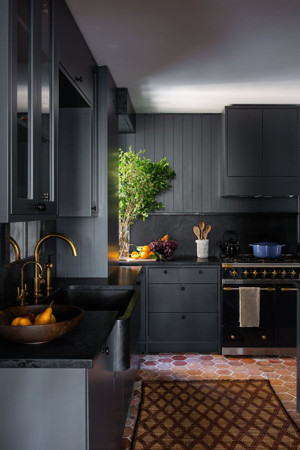 kitchen trends 2019 dark and moody vibes kitchen trends kitchen design dark kitchen on kitchen decor trends id=96163