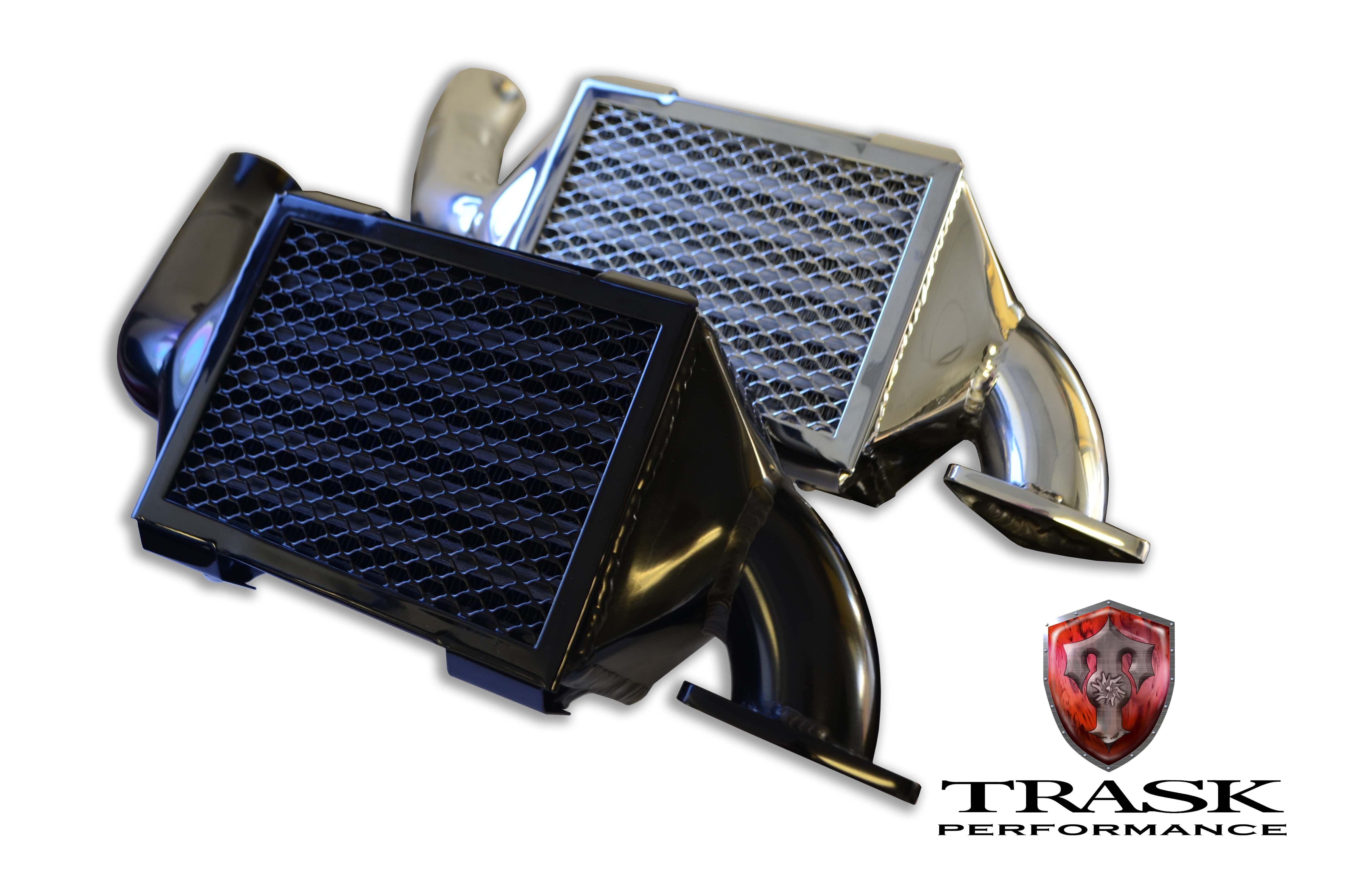 Trask Turbo Systems VRod Intercooler Upgrade Running a