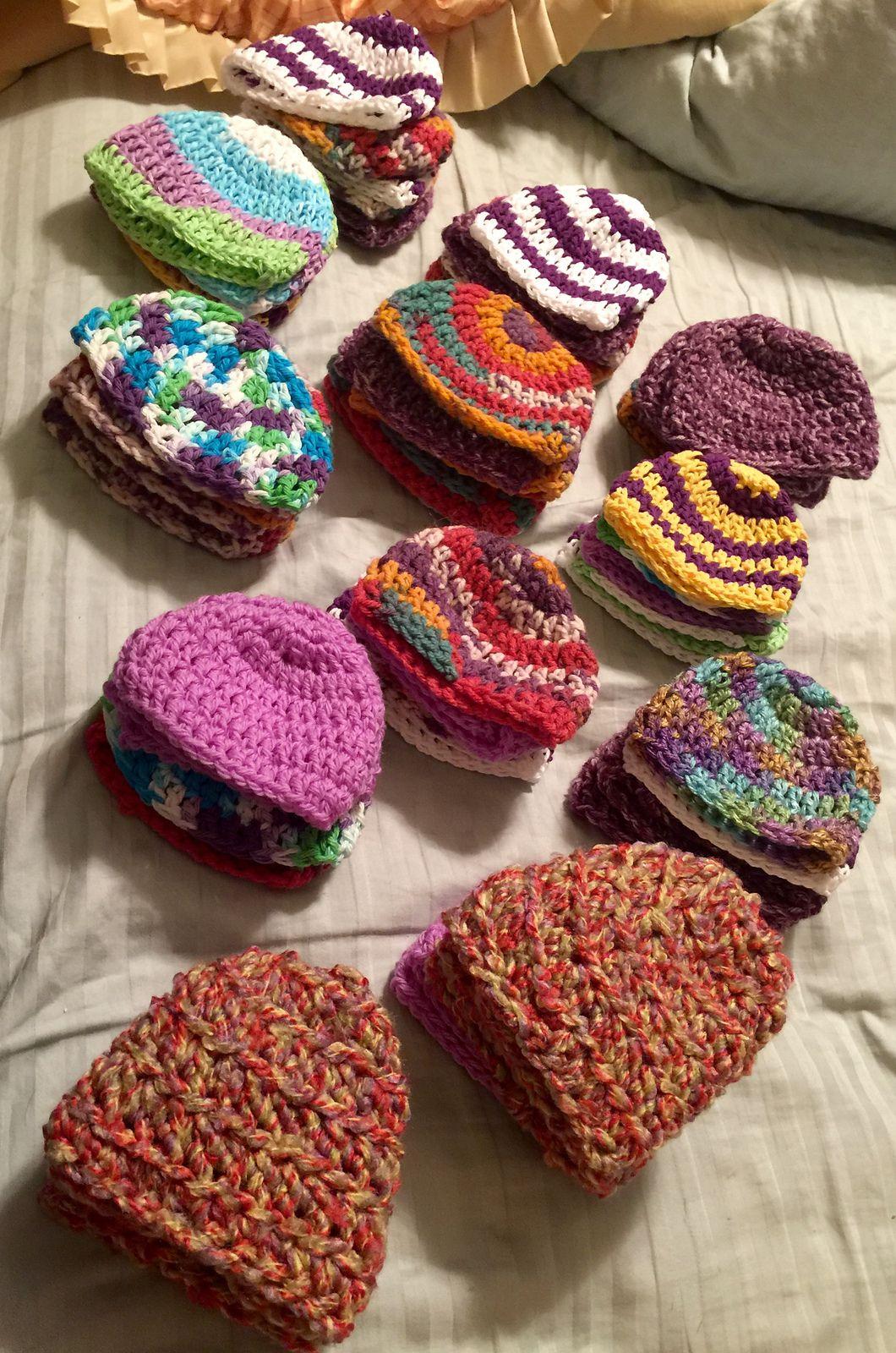 Simple Double Crochet Hat By Oombawka Design - Free Crochet Pattern ...