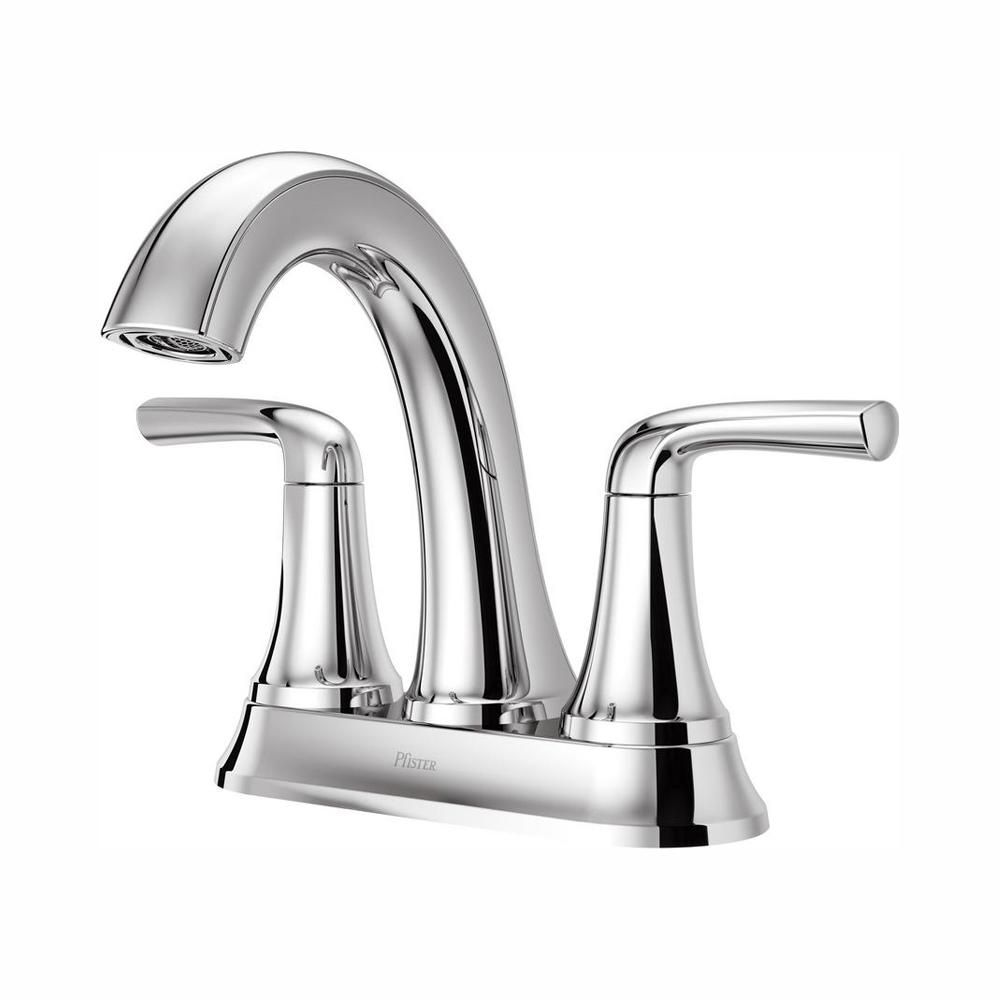 Pfister Ladera 4 In Centerset 2 Handle Bathroom Faucet In