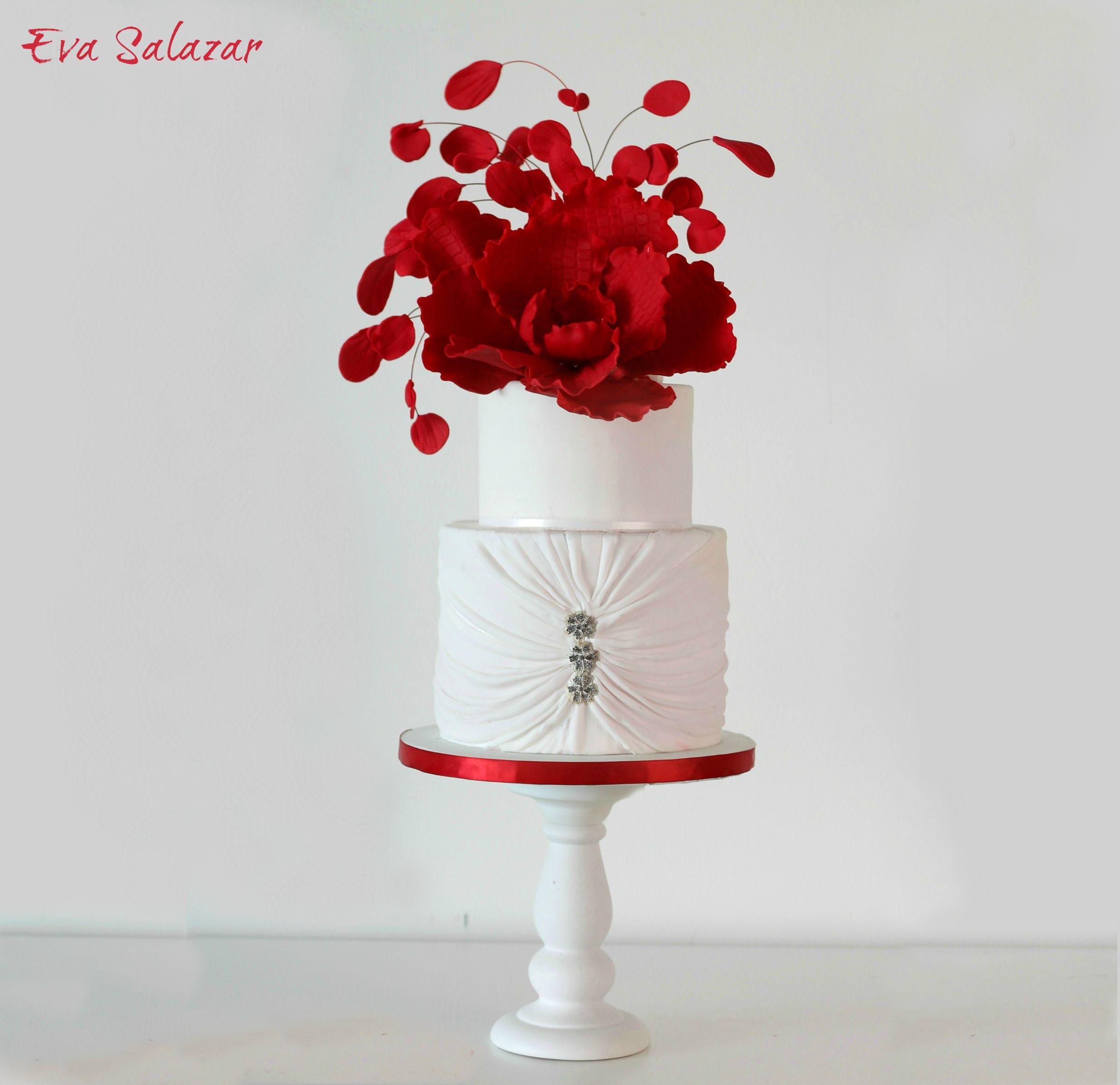 Supersized Fantasy sugar Flower Cake