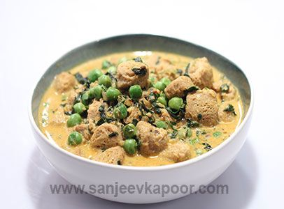 Dahiwale soya methi matar by chef sanjeev kapoor soya vegan curry dahiwale soya methi matar by chef sanjeev kapoor soya vegan curry forumfinder Image collections