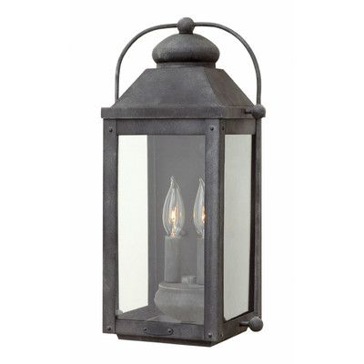 Hinkley Lighting Anchorage 2 Light Wall Lantern Reviews Wayfair