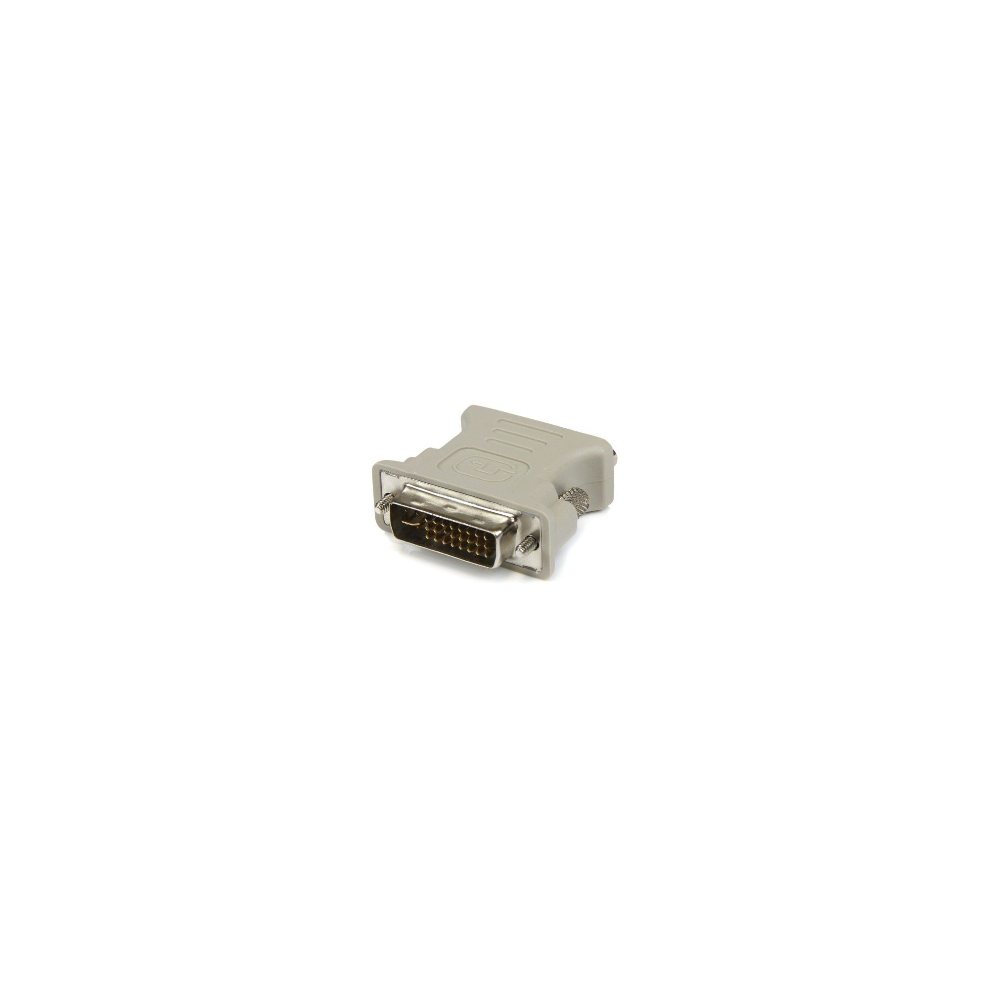 DVI-I to VGA StarTech.com DVI to VGA Cable Adapter M//Fr Pack of 10 DVI Male to VGA Female Adapter Pack of 10 DVI to VGA Adapter Beige