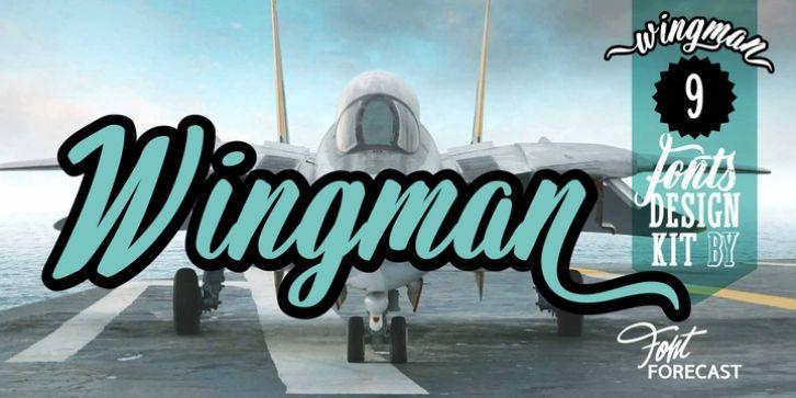Wingman Font Download Design Cool Fonts Fonts