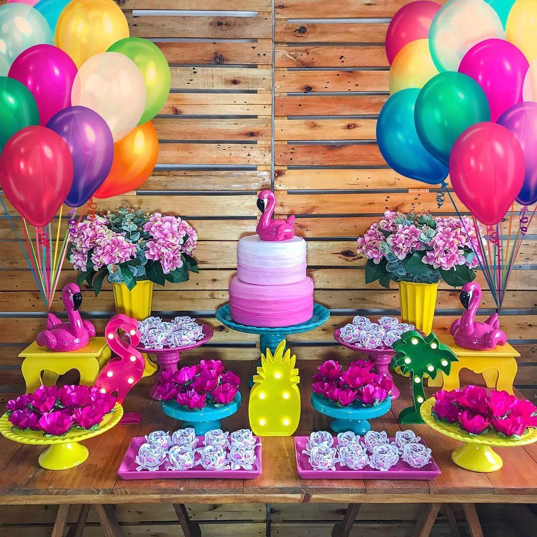 Que linda por ud83d udc95 ud83d udc93 ud83d ude0d@suafestacg u2022 u2022 u2022 Cores maravilhosas para a SUA FESTA com tema Flamingos!!! O