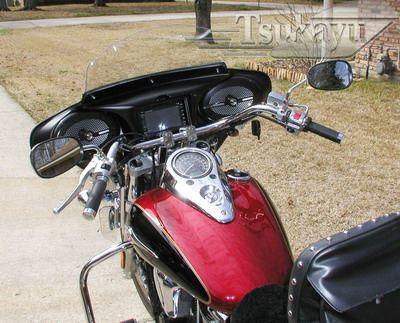 tsukayu fairing, hard saddlebags and touring trunk | kawasaki