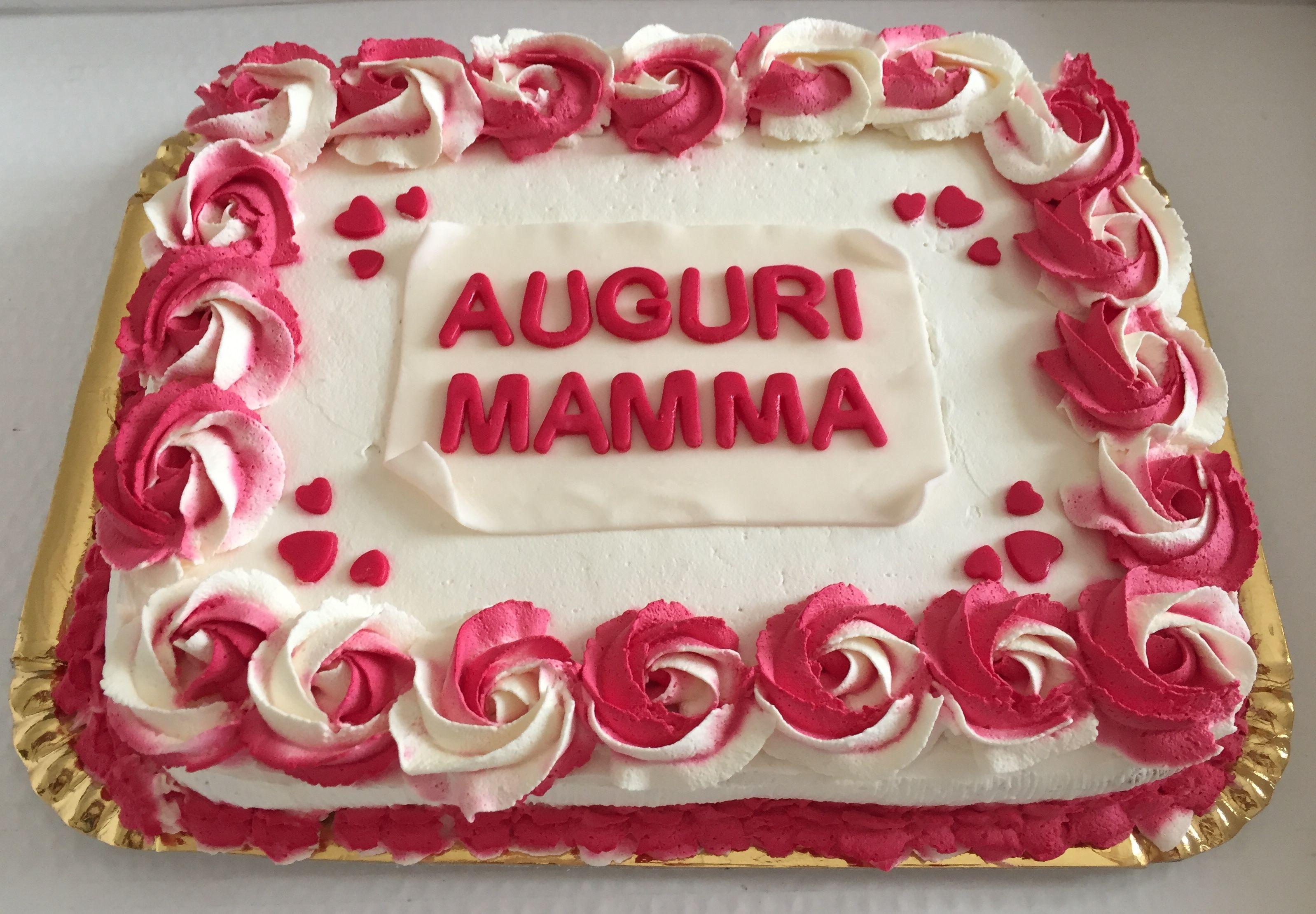 Foto Torta Compleanno Mamma.Torta Compleanno Mamma Con Rose Bicolore Torte Compleanno Mamma