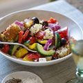 Ina Garten Greek Panzanella Recipe - Ina Garten Recipes - House Beautiful