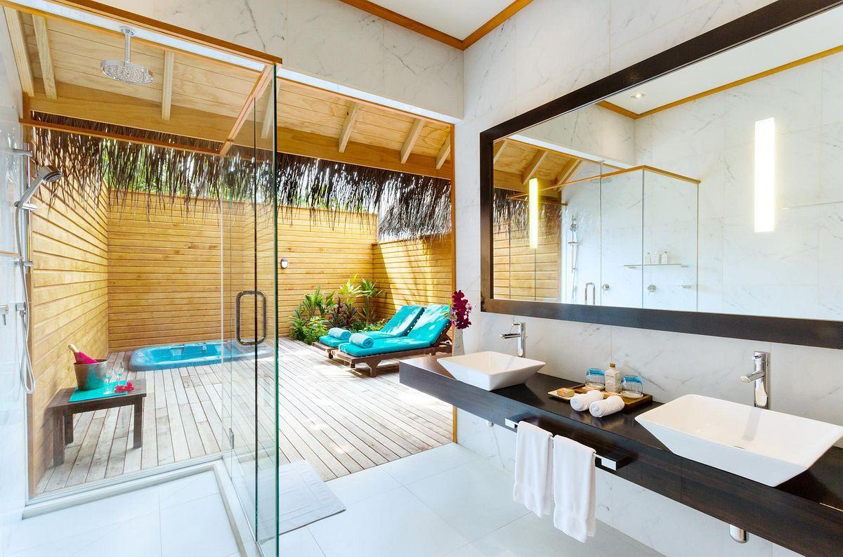 Veligandu Island Resort & Spa  Maldives A 600 Luxury Fair Luxury Outdoor Bathrooms Design Inspiration