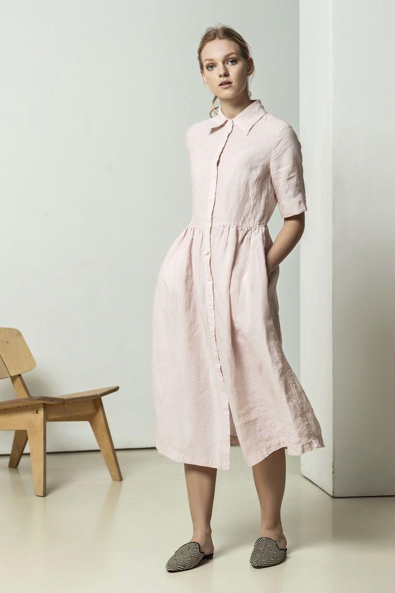 Pink Shirt Dress For Perfect Shirt Dress Street Style Style Linen Shirt Dress With White Linen P Classic Shirt Dress Shirt Dress Street Style Pink Dress Shirt [ 1200 x 800 Pixel ]