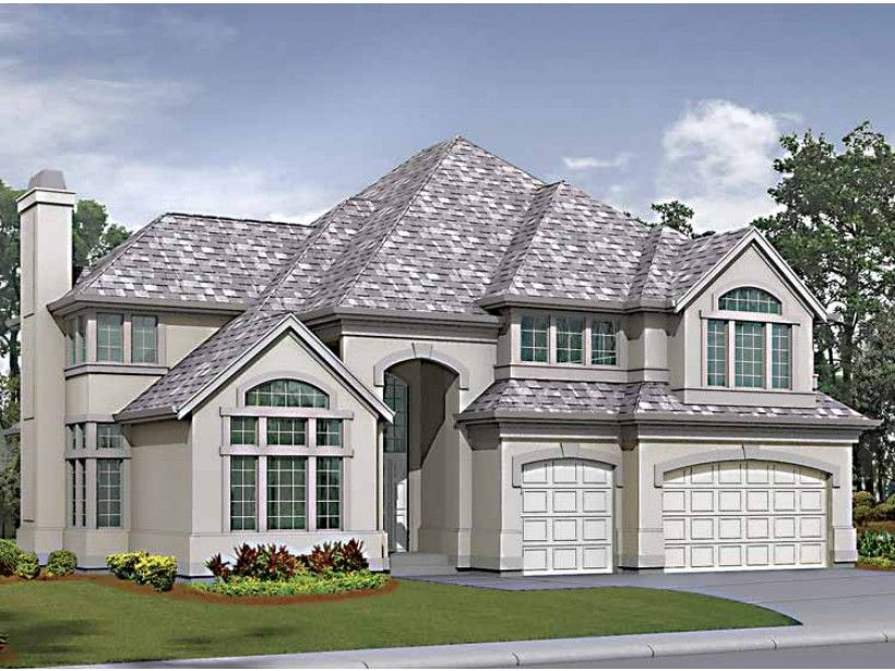 Eplans Craftsman House Plan Two Story Elegant Living Room With Curved Staircase 3330 Square Feet And 4 Be House Plans Craftsman House Plans New House Plans