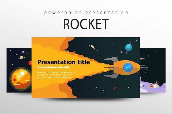 Rocket powerpoint template template and presentation templates rocket powerpoint template creativework247 toneelgroepblik Choice Image