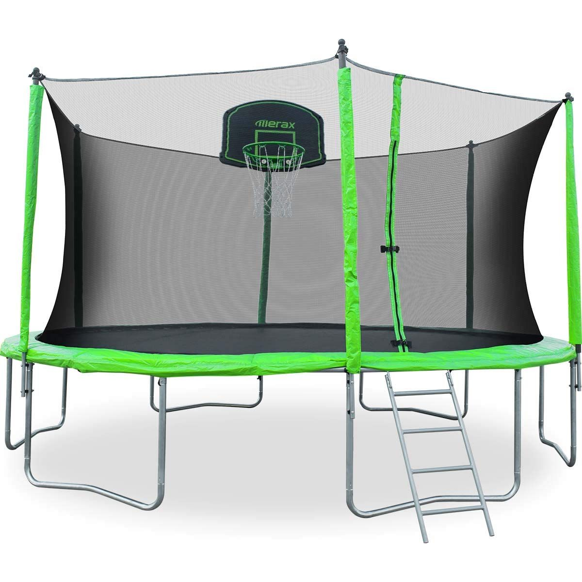 Merax 12 14 Ft Round Trampoline with Safety Enclosure