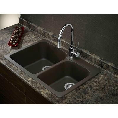 BLANCO | Silgranit, Natural Granite Composite Topmount Kitchen Sink, Café |  Home Depot Canada