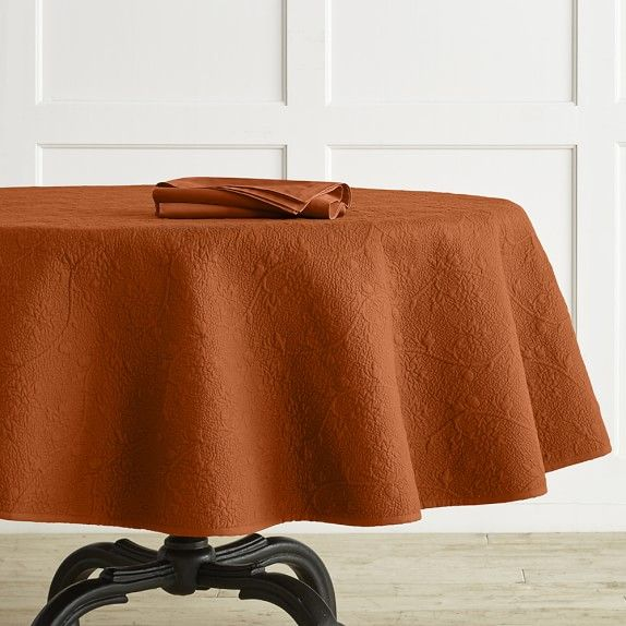 High Quality Vine Floral Boutis Round Tablecloth