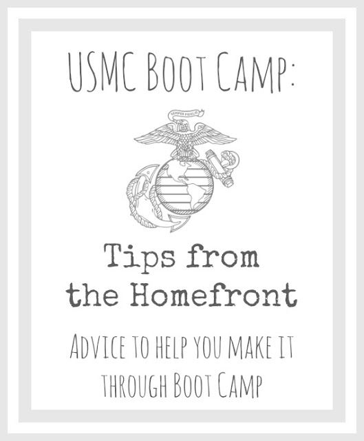 Photo of USMC Boot Camp: Tips From the Homefront!