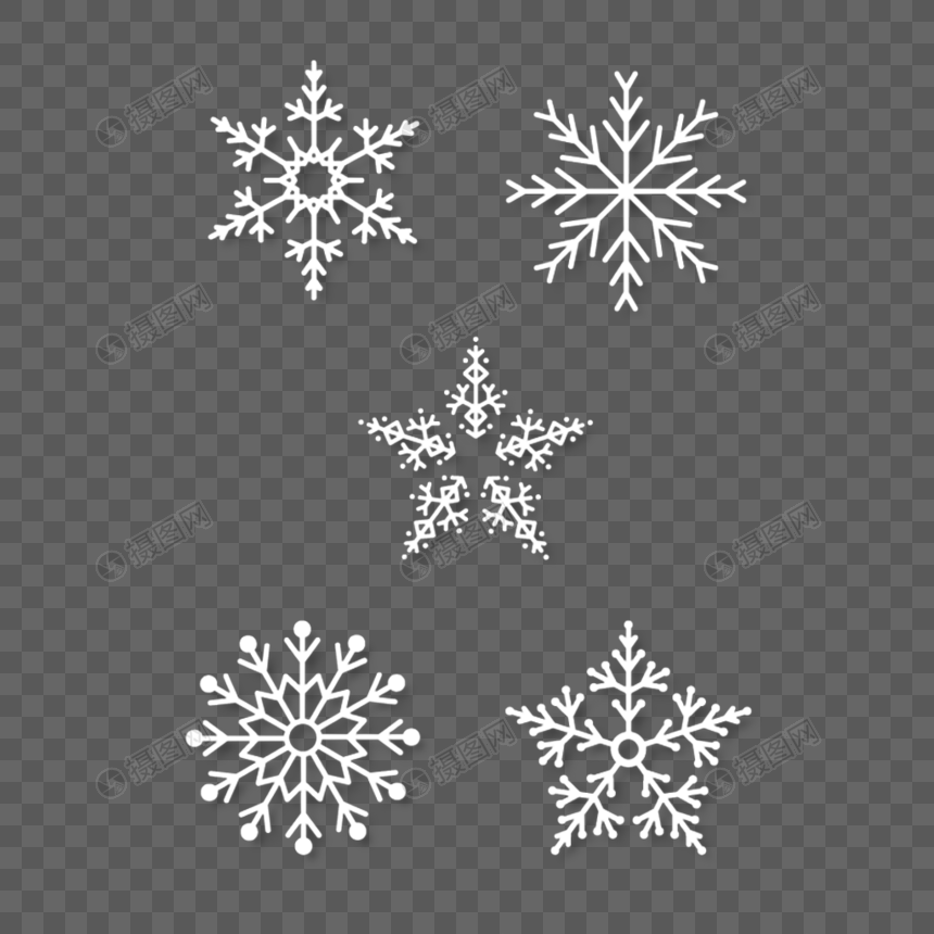 Pin By Lovepik On Winter Png Christmas Snowflakes Snowflakes Christmas
