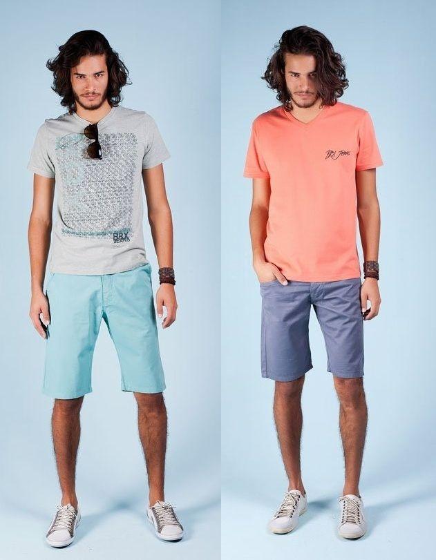 As bermudas masculinas BRX vem em cores especiais para o Verão. Tudo pra você curtir a estação mais quente com muito estilo.
