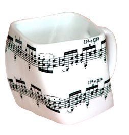 """Musikboutique Gabor Mug """"crooked"""". Very different..."""